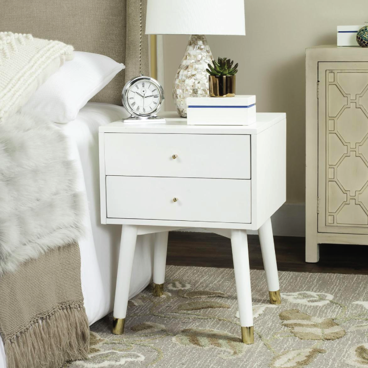 lyla nightstand in bedroom
