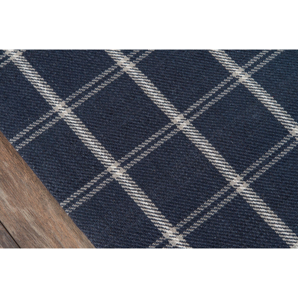NAVY MARLBOROUGH RUG