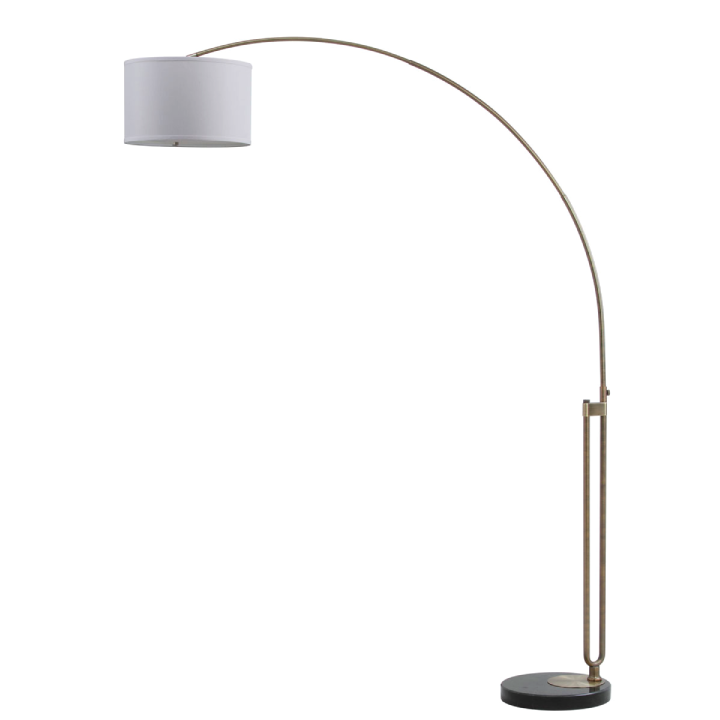 polaris arc floor lamp