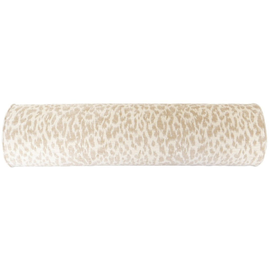 THE BOLSTER NEUTRAL LEOPARD CHENILLE
