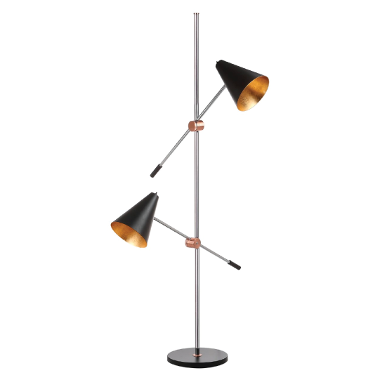 black reed floor lamp by safavieh