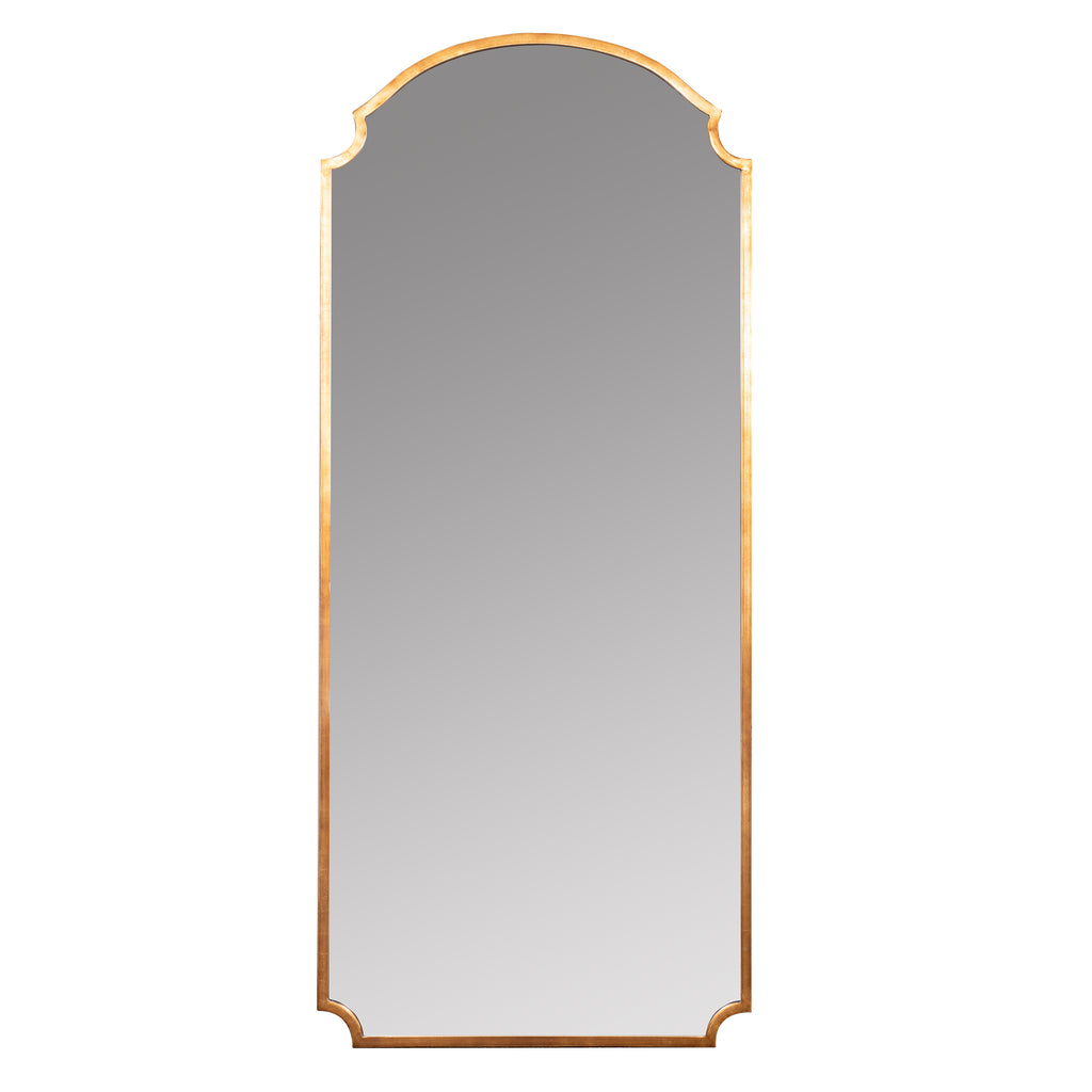 saxton gold finished mirror