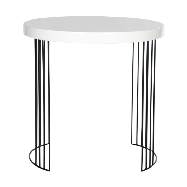 accent table with metal legs