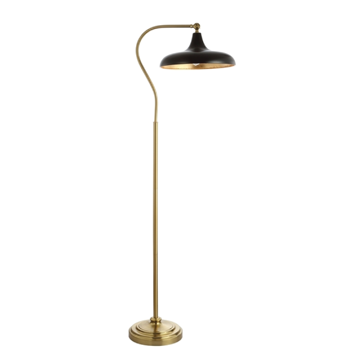 stefan floor lamp black