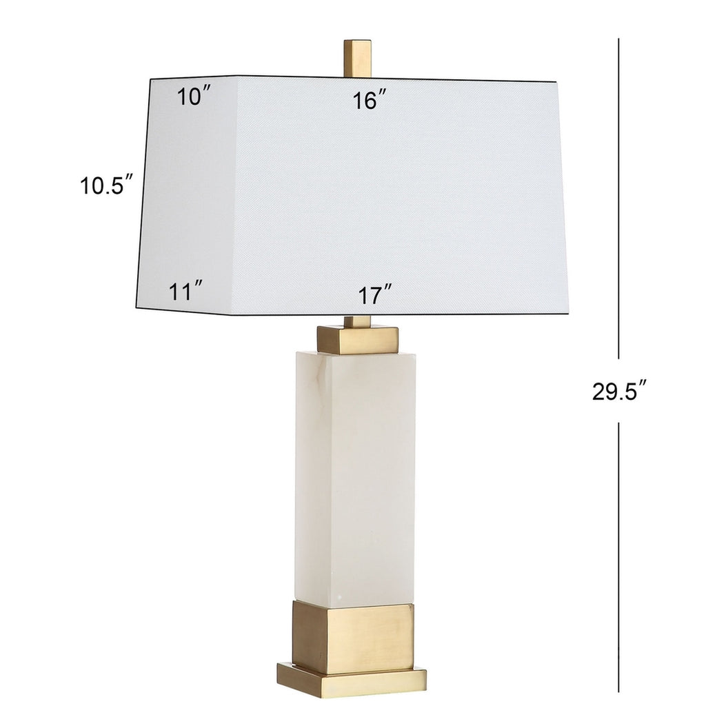 ROZELLA ALABASTER TABLE LAMP