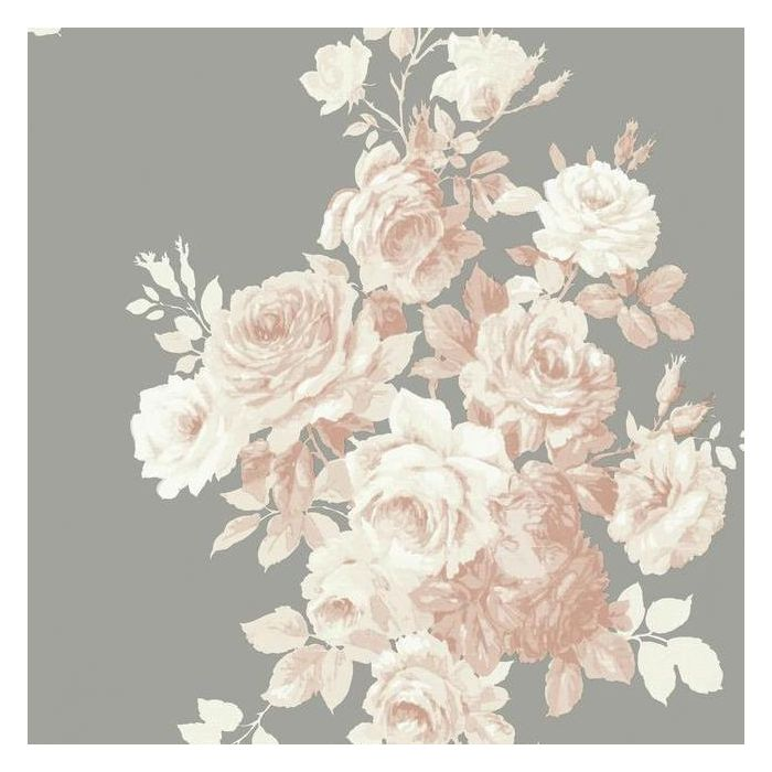tea rose blush gray