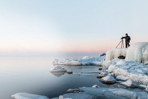 Daniel Sigg landscape photographer at Lake Superior North Shore
