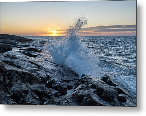 Another Wave - Metal Print