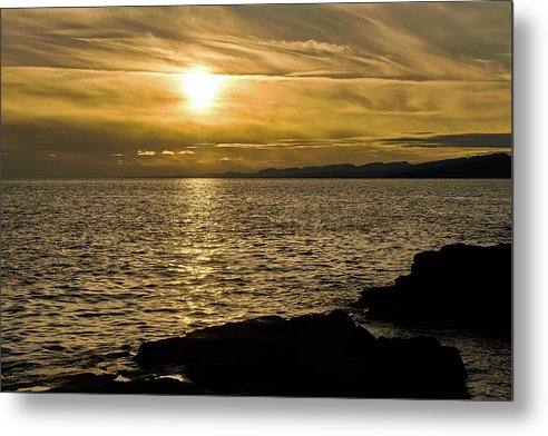 Before Sunset - Metal Print