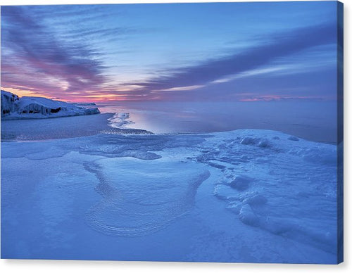 Blue Hour At The Artist Point - Canvas Print