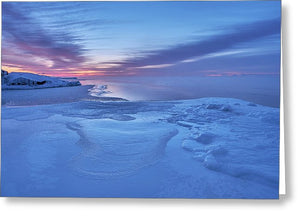 Blue Hour At The Artist Point - Greeting Card
