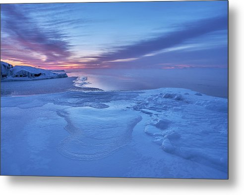 Blue Hour At The Artist Point - Metal Print