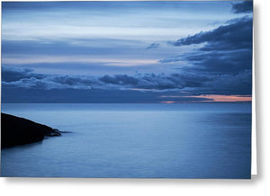 Blue Hour - Greeting Card