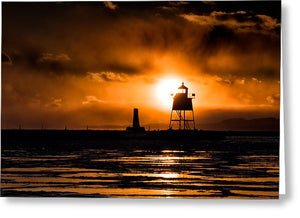 Lighthouse - Greeting Card
