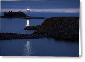 Grand Marais Lighthouse - Greeting Card