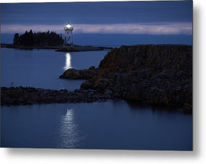 Grand Marais Lighthouse - Metal Print