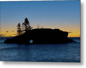 Hollow Rock - Metal Print
