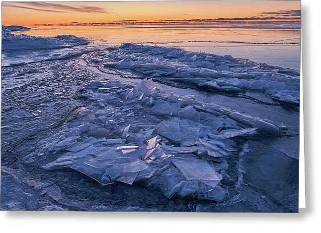 Ice Formations  - Greeting Card