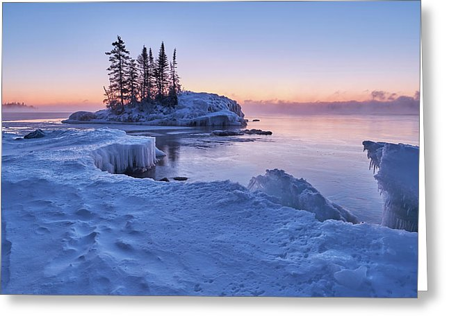 Little Island On The North Shore - Greeting Card