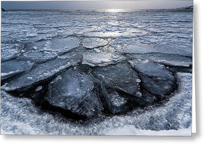 Pancake Ice 2 - Greeting Card
