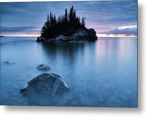 The Rock - Metal Print