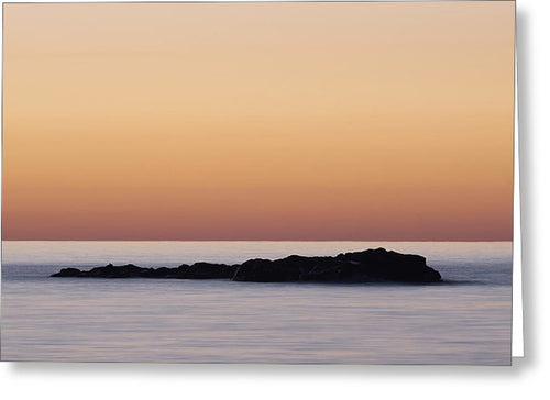 Little Island On Lake Superior - Greeting Card