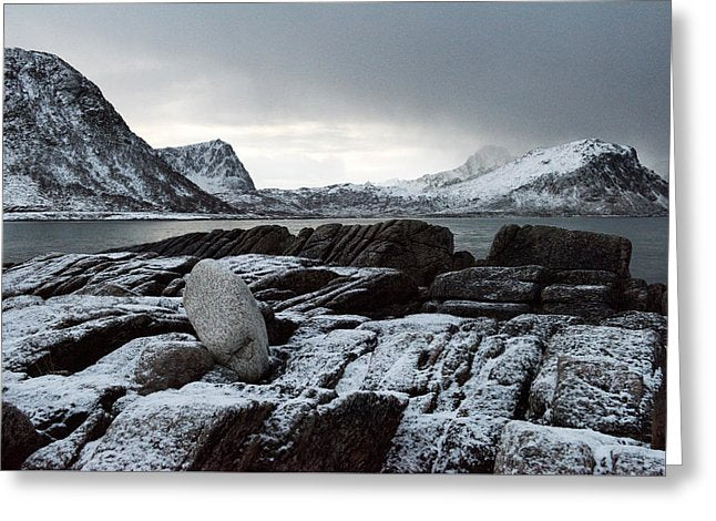 Vik Beach, Lofoten - Greeting Card