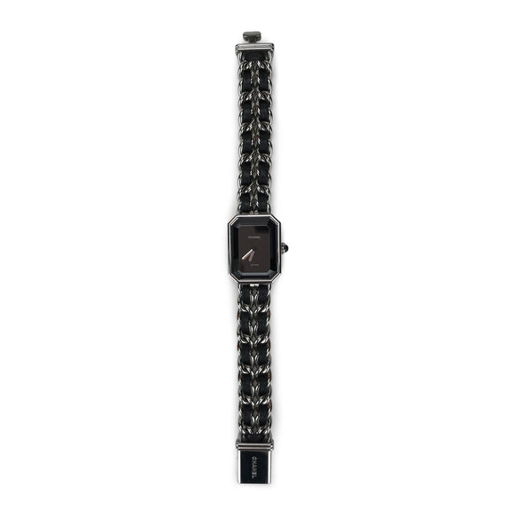 CHANEL Première Watch in Black Leather - Dearluxe.com