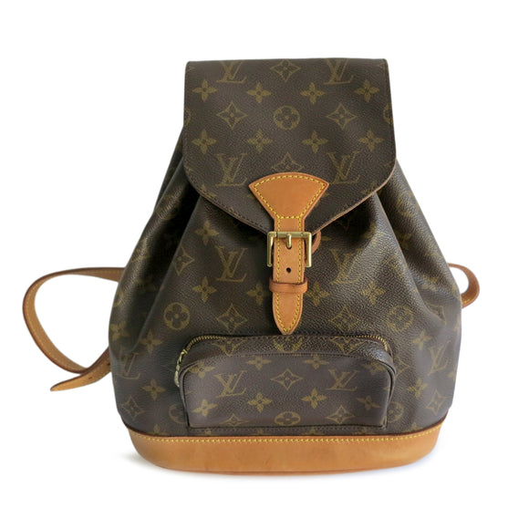 LOUIS VUITTON Vintage Montsouris Backpack MM in Monogram - Dearluxe.com