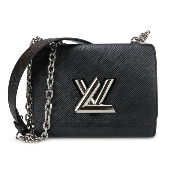 LOUIS VUITTON Twist PM Bag in Black Epi Leather - Dearluxe.com