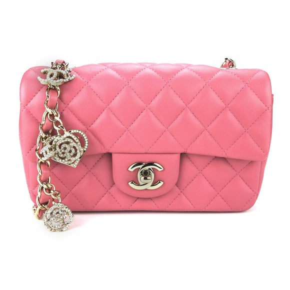 CHANEL Mini Rectangular Flap Bag Valentine's Day Edition - Dearluxe.com