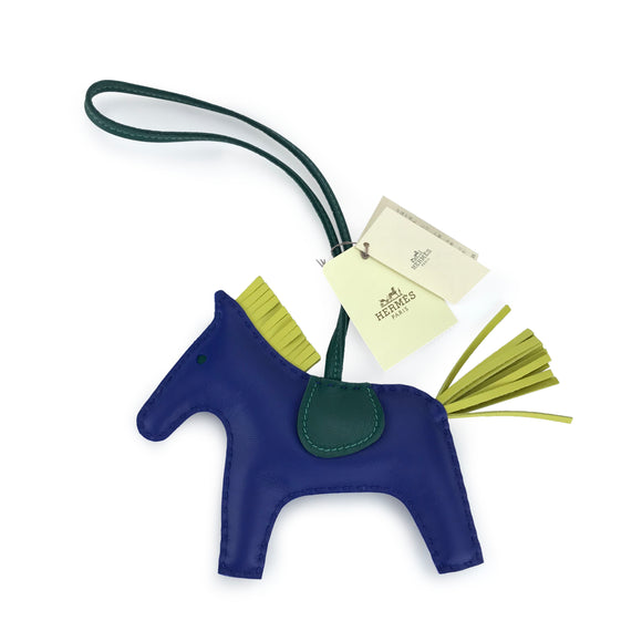 HERMÈS Rodeo MM Horse Bag Charm - Dearluxe.com