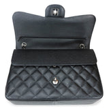 CHANEL Jumbo Classic Double Flap Bag in Black Caviar SHW - Dearluxe.com