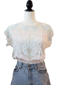 80's Lace Pastel Tee