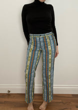 Rare 1970's GWG Patterned Jeans