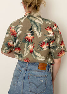 90's Hawaiian Button-Up