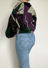 80's Moore's Knit Crew Neck Pullover Sweater