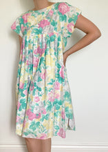 Early 80's Floral Sun Dress