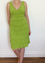 90's Lime Green Cocktail Dress