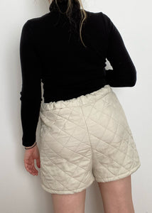Upcycled Quilted Shorts