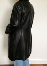 Black 90's Danier Leather Jacket