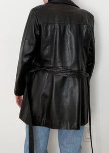 90's Danier Leather Trench