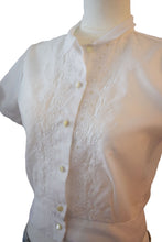 Vintage Short Sleeve Blouse