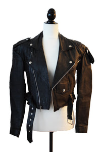 80's Leather Moto Jacket