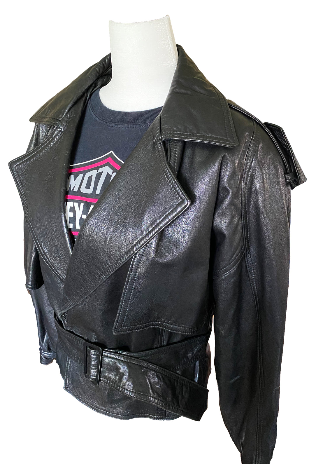 90's Leather Jacket