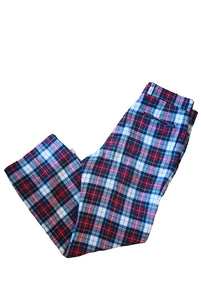 Wool Plaid Pant