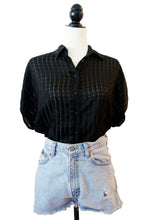 Sheer Vintage Striped T