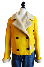 Yellow Shearling Jacket