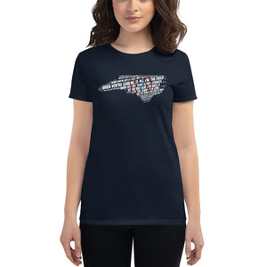 Ladies SportsChannel8 Theme Shirt