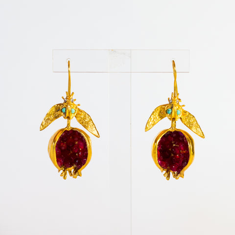Pomegranet Earrings